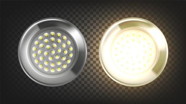panel luz lámpara eléctrica de ledVector Iluminación de gfyY76b