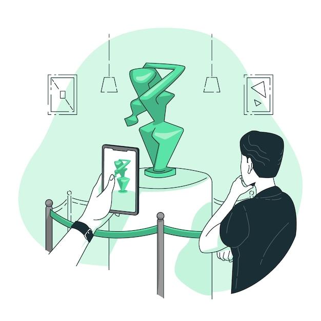 Ilustración del concepto de arte vector gratuito
