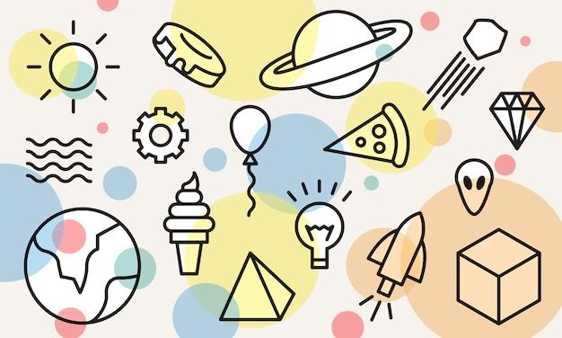 Ilustración del concepto de ideas vector gratuito