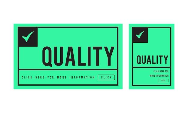 Ilustración del control de calidad vector gratuito