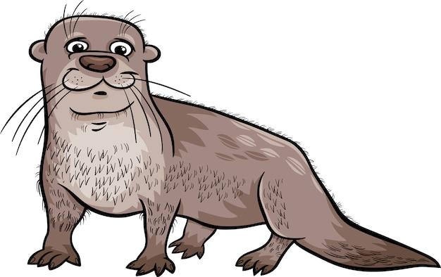 Ilustración de dibujos animados de animales de nutria   Descargar ...