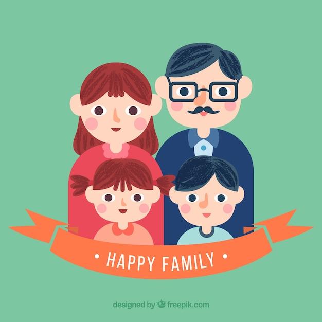 ilustracion-de-familia-linda_23-2147527170.jpg (626×626)