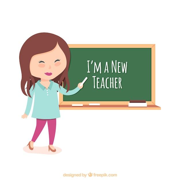 Caricature d'un enseignant Imagui