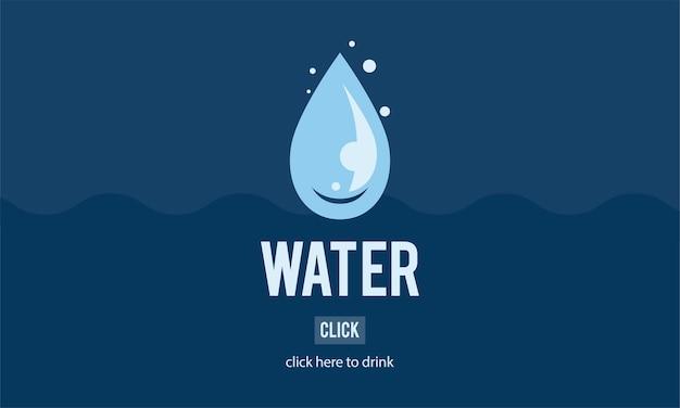 Ilustración del día del agua vector gratuito