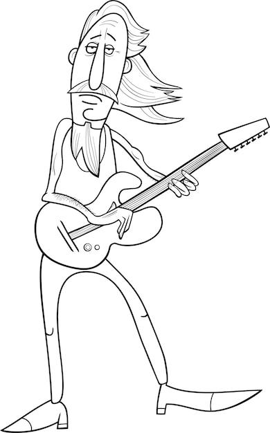 Ilustración De Dibujos Animados Viejo Hombre Roca Descargar