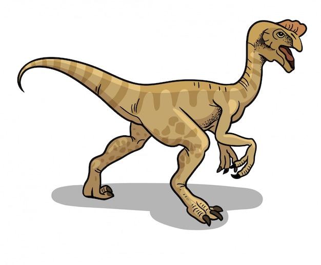 Ilustracion De Dinosaurio Oviraptor En Estilo De Dibujos Animados Vector Premium Oviraptor was a small, feathered, theropod which lived during the cretaceous. https www freepik es profile preagreement getstarted 6768306