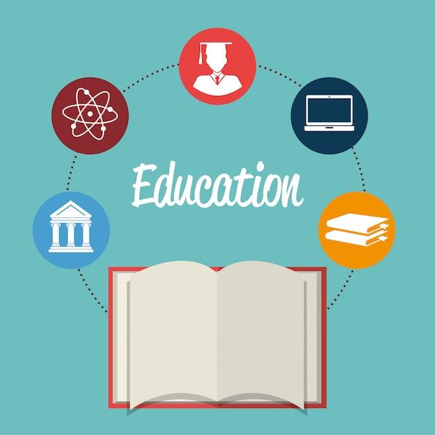 Ilustración de excelencia académica vector gratuito