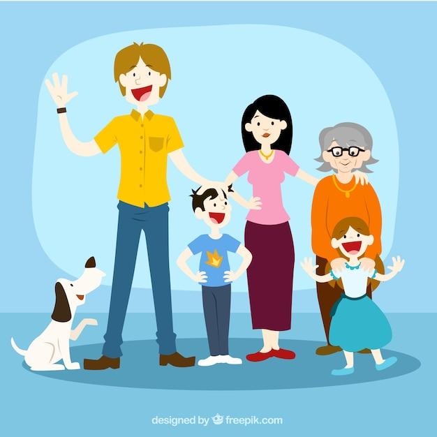 Resultado de imagen para ILUSTRACION DE LA FAMILIA