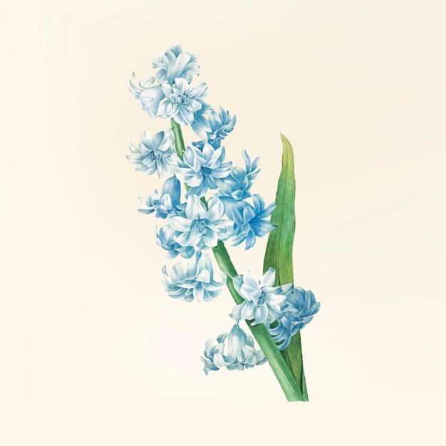 Ilustración de flor vintage vector gratuito
