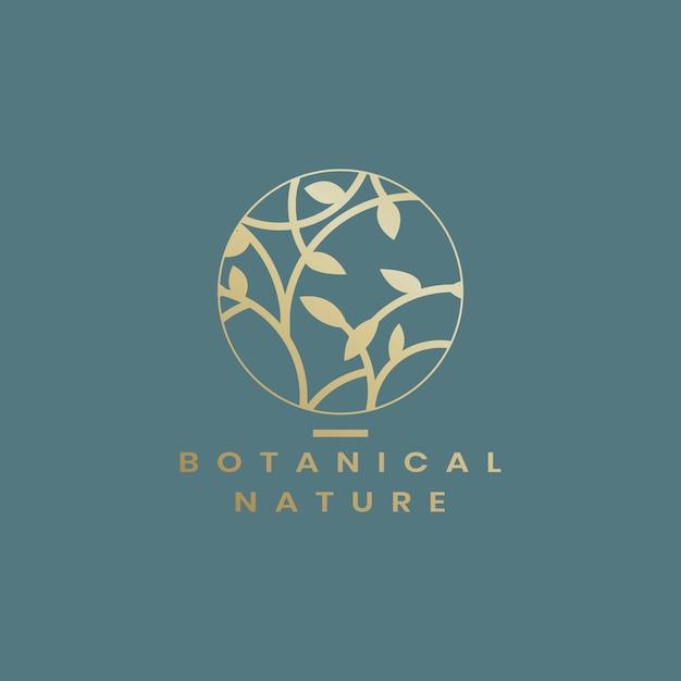 Ilustración floral botánica vector gratuito