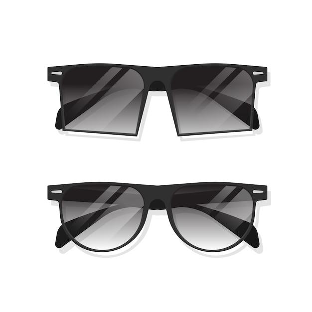 Ilustración de gafas de sol Vector Premium
