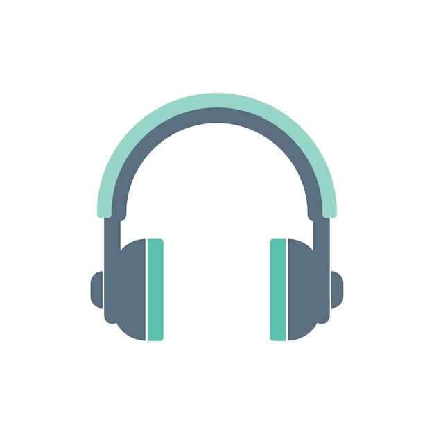 Ilustración del icono de auriculares vector gratuito