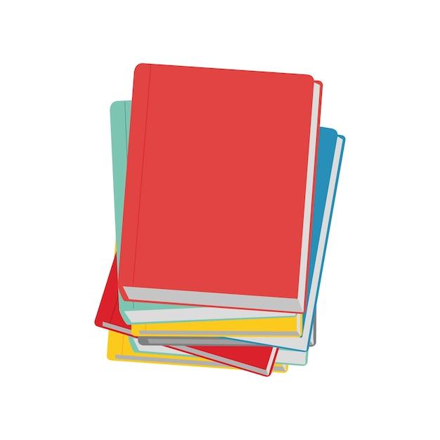 Ilustración del icono del cuaderno vector gratuito