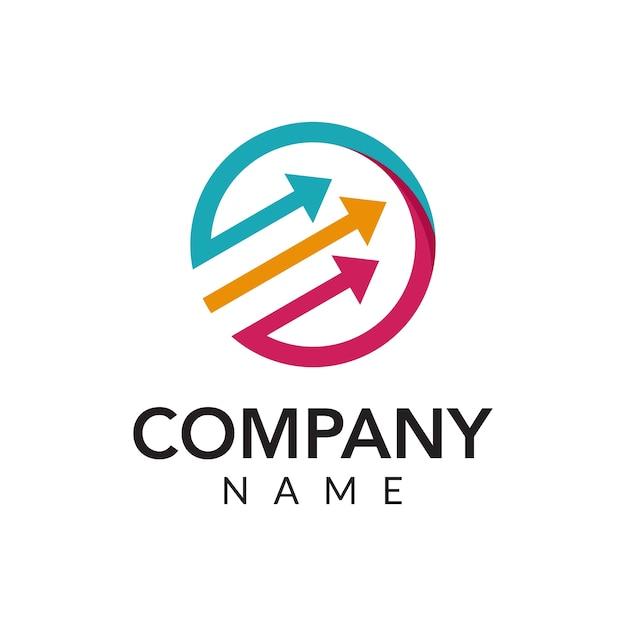 Ilustración de icono de logo de vector marketing digital ...