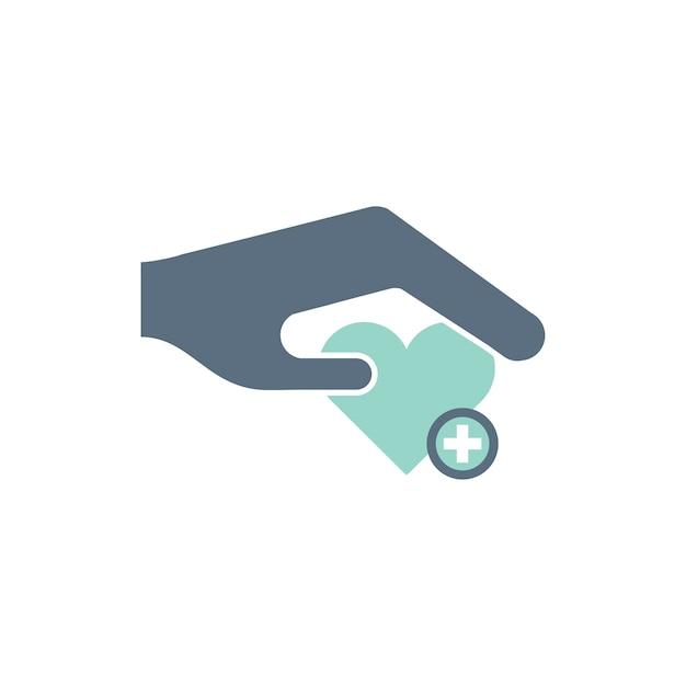 Ilustración de iconos de ayuda de donación vector gratuito