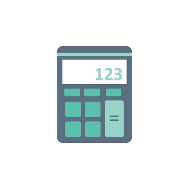Ilustración de la máquina de la calculadora vector gratuito