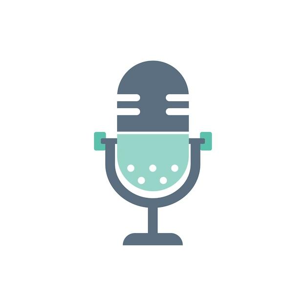 Ilustración del micrófono vector gratuito