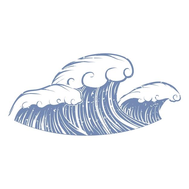 Ilustración del objeto de verano y playa vector gratuito