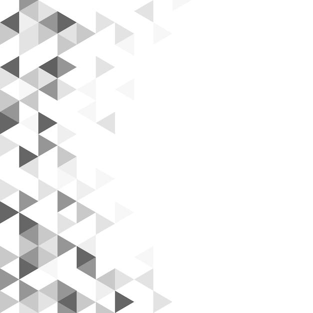 Ilustración de patrón de triángulo geométrico vector gratuito
