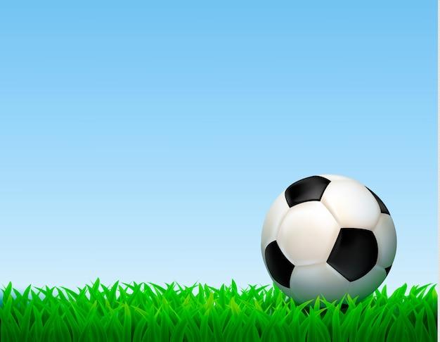 Ilustración de pelota de fútbol vector gratuito