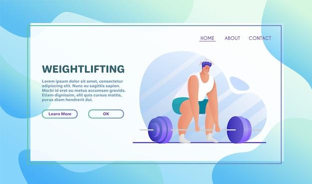 Ilustración plana de actividades deportivas Vector Premium