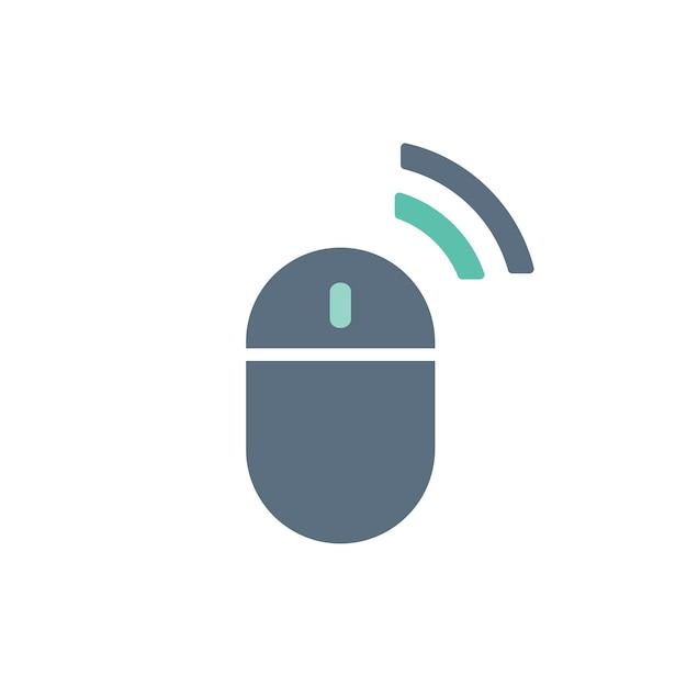 Ilustración del ratón de la computadora vector gratuito
