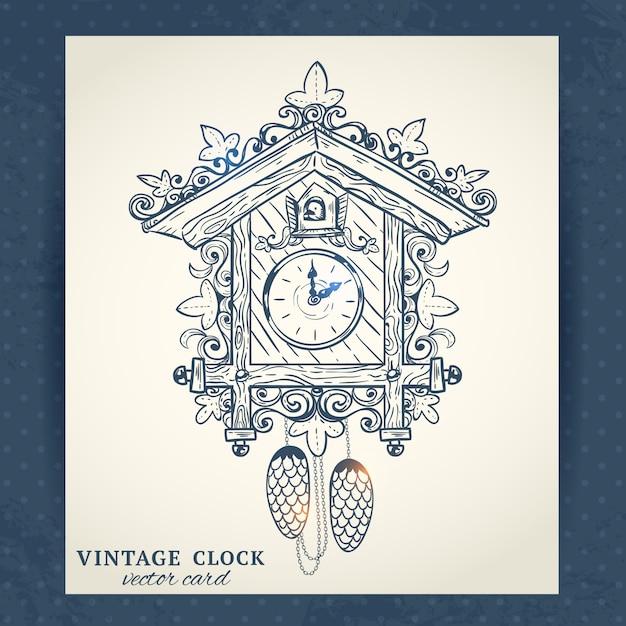 Cuco Reloj Vectores Fotos De Stock Y Psd Gratis