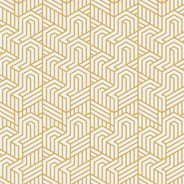 Ilustración de vector de patrón elegante de entrelazamiento vector gratuito
