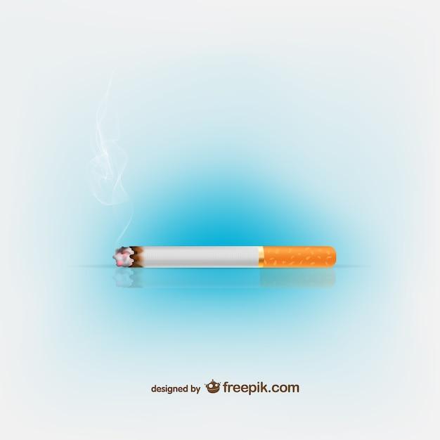 Ilustración vectorial de cigarrillos vector gratuito