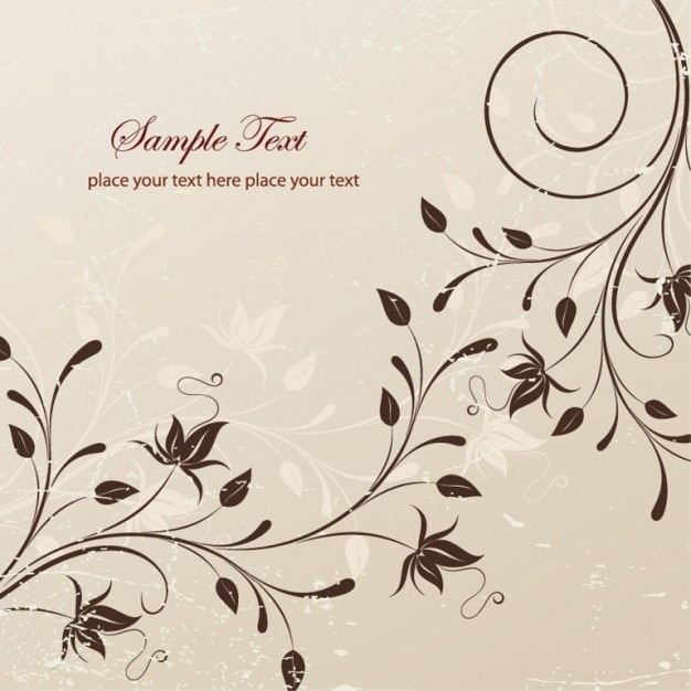 Ilustración vectorial libre de flores | Descargar Vectores gratis