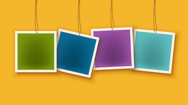 Imagen de etiquetas Vector Premium
