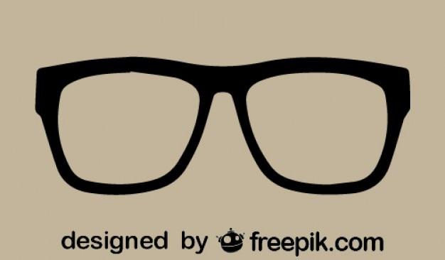 Imagen vectorial de gafas vector gratuito