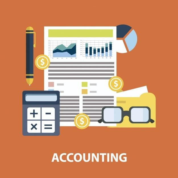 infograf u00eda plana de contabilidad