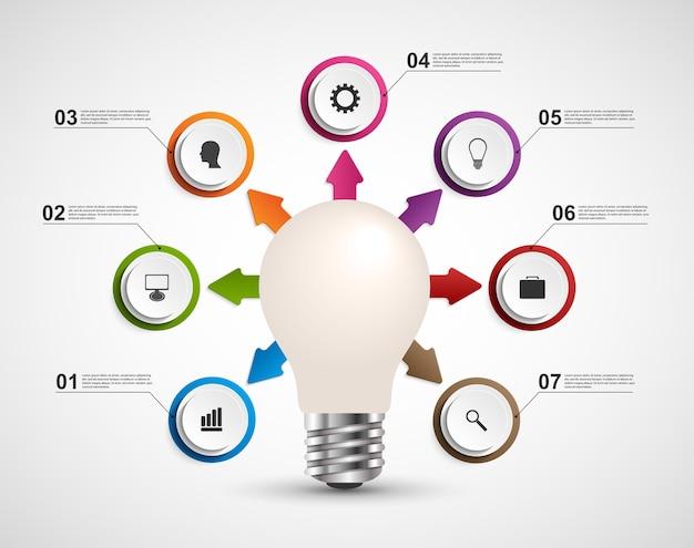 02d0874790ba4 Infografía para presentaciones de negocios.
