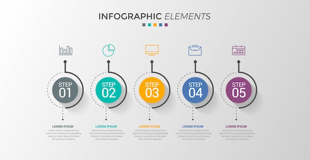 Infografía Vector Premium