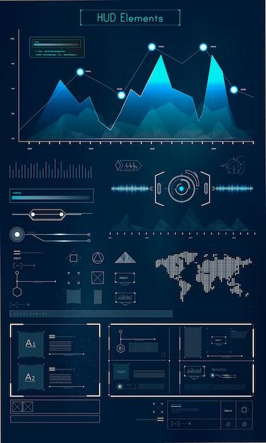 Infografía vector gratuito