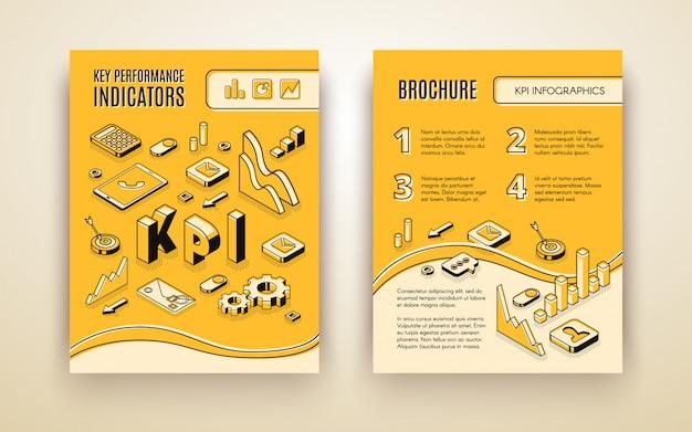 Informe anual de la empresa vector gratuito