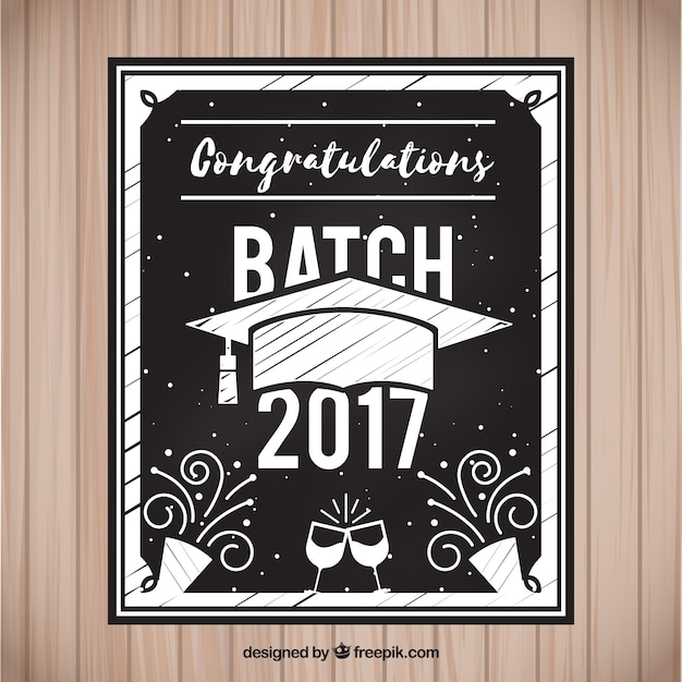 Invitación De Fiesta De Graduación Vector Gratis