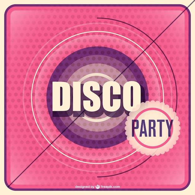 Free Disco Party Invitations