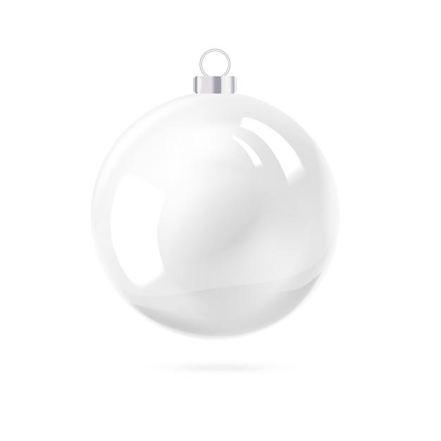 Juguete navideño de vacaciones para abeto. vector gratuito