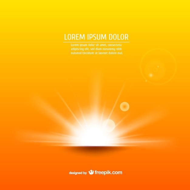 La salida del sol de fondo vector descargar vectores gratis for Fondo del sol