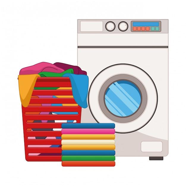 Lavado de ropa y accesorios de limpieza Vector Premium