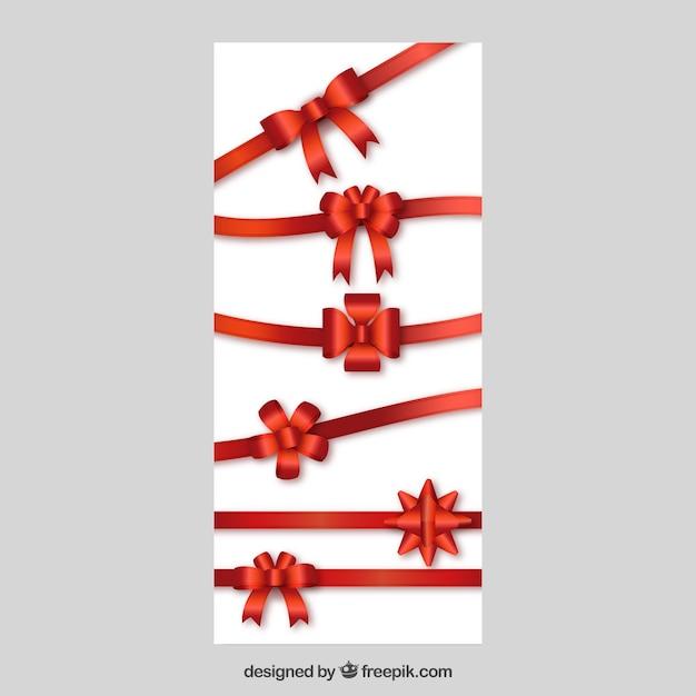 Lazos y cintas de regalo descargar vectores gratis for In regalo gratis
