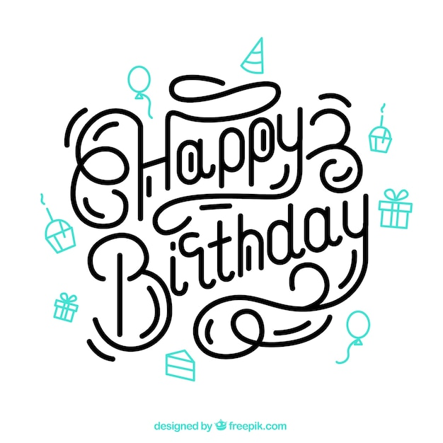 Pinterest Best H: Letras De Cumpleaños Feliz