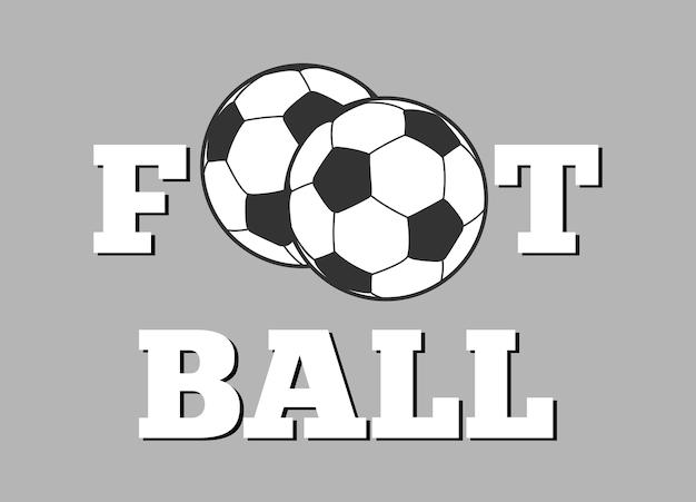 Deportes De Pelota Descargar Vectores Gratis: Letras De Fútbol Y Fondo De Pelota