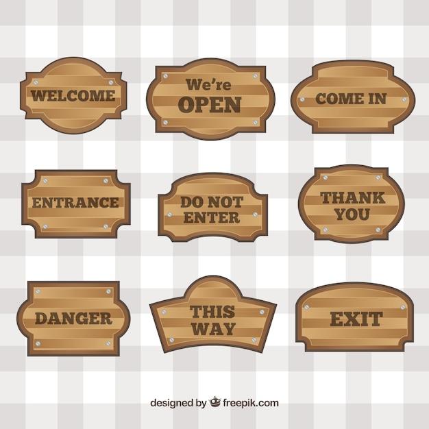 Letreros de madera con diferentes mensajes descargar - Letreros en madera ...