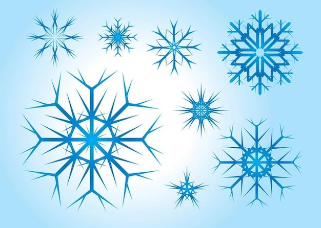 Vector Copo De Nieve: Libre De Vectores De Copo De Nieve