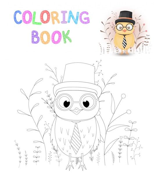 Libro Para Colorear O Página Para Niños De La Escuela