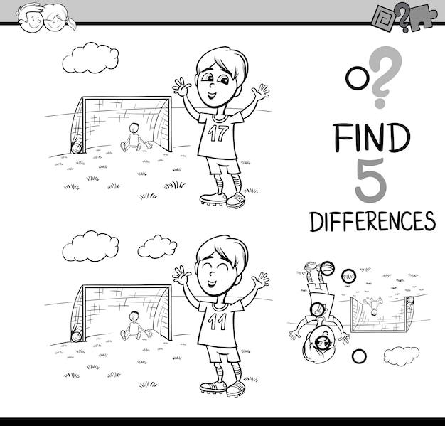 Libro de colorear de la actividad preescolar | Descargar Vectores ...