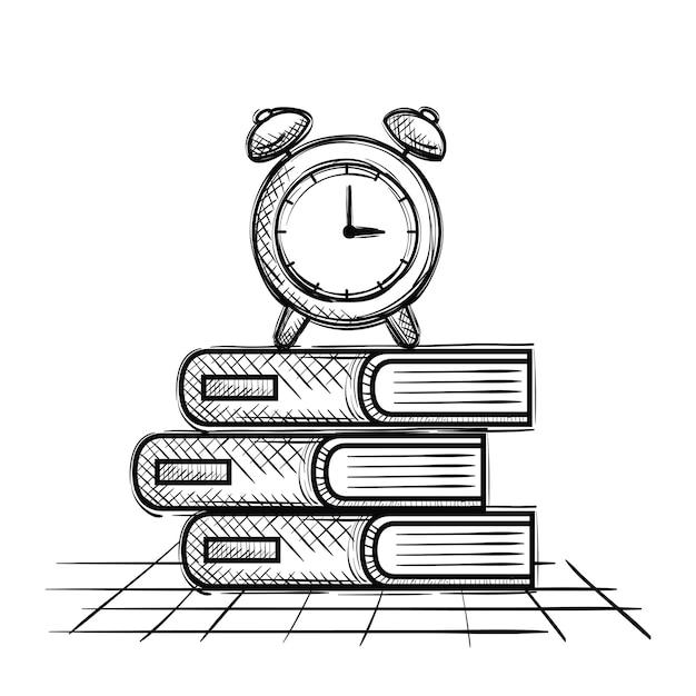 Vector Pila Libros Para Colorear Gratis | www.imagenesmy.com